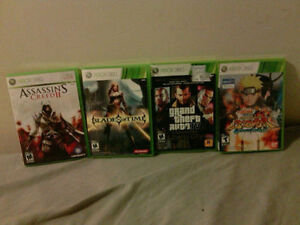 Xbox 360 Games (4 Games)