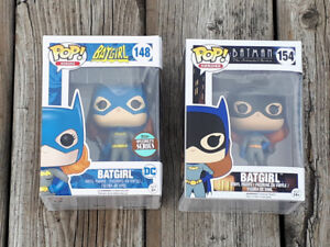 Funko Pop! Heroes Batgirl 148 and 154 – Vinyl Pop Figures