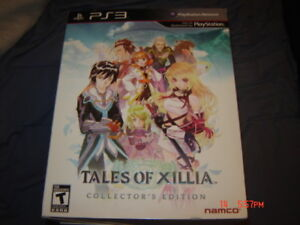TALES OF XILLIA COLLECTORS EDITION PLAYSTATION 3 PS3 COMPLET