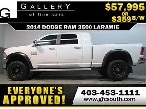 2014 RAM 3500 DIESEL LIFTED *EVERYONE APPROVED* $0 DOWN $359/BW!