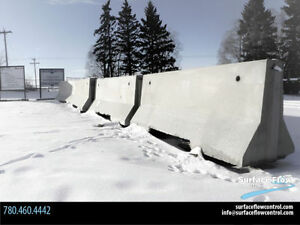 """Jersey Barriers – """"seconds"""" 