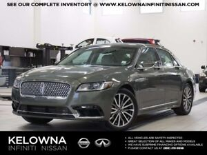 2017 Lincoln Continental Select AWD w/Technology and Climate Pac