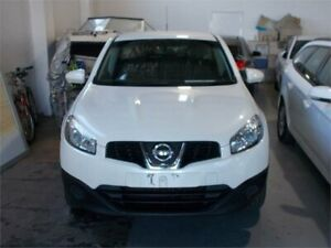 2013 Nissan Dualis J10 MY13 ST (4x2) White 6 Speed CVT Auto Sequential Wagon Fyshwick South Canberra Preview