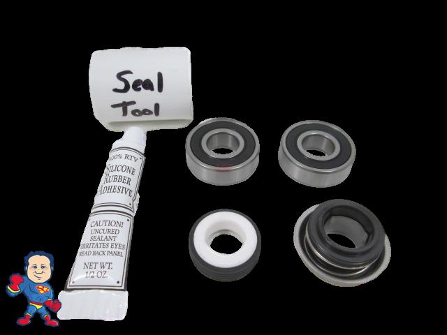 Bearing & 1000 Seal Pump Parts Kit Waterway Spa Hot Tub Pum