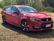 2016 Holden Commodore VF II MY16 SV6 Sportwagon Black Red 6 Speed Sports Automatic Wagon Wodonga Wodonga Area Preview