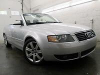 2004 Audi A4  CABRIOLET CUIR MAGS BOSE 211,000KM