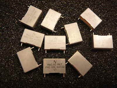 Arcotronics Metallized Polyester Film Capacitor 2.2uf 100v 10 New Qty.10