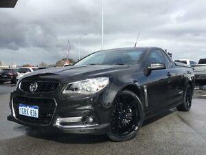 2014 Holden Ute VF SV6 Storm Black 6 Speed Manual Utility Beckenham Gosnells Area Preview