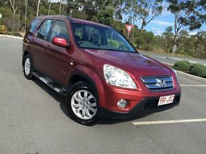 2005 Honda CR-V  Red 5 Speed Automatic Wagon Arundel Gold Coast City Preview