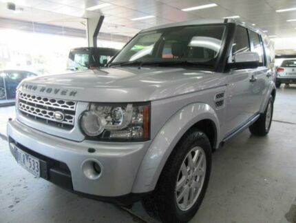 2010 Land Rover Discovery 4 MY10 2.7 TDV6 Silver 6 Speed Automatic Wagon