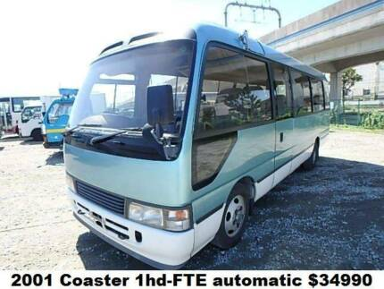 2001 Toyota Coaster TURBO AUTO 1HD-FTE engine. (DEPOSIT RECEIVED)
