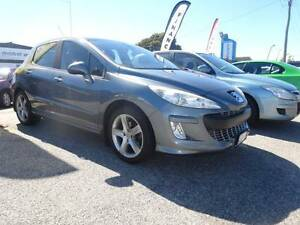 2008 Peugeot 308 Automatic Turbo Hatchback Wangara Wanneroo Area Preview