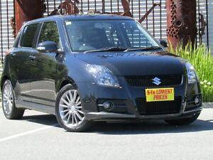 2012 Suzuki Swift FZ Sport Black 6 Speed Manual Hatchback Melrose Park Mitcham Area Preview