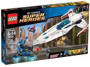 LEGO Super Heroes: Justice League: 76028 Darkseid Invasion, NEW