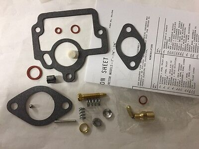 International Farmall H O4 W4 Tractor Carburetor Carb Kit Usa Quality Free Ship