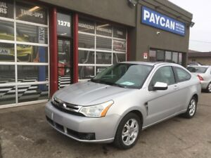 2008 Ford Focus SES   CHECK OUT OUR NEW SITE PAYCANOTORS.CA!!!