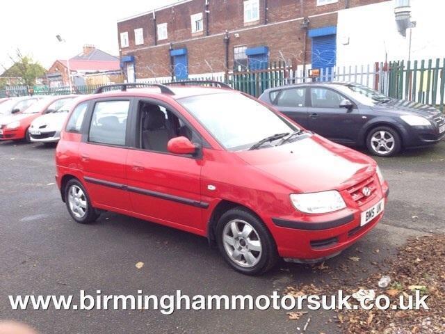 2005 05 Reg Hyundai Matrix 1 6 Gsi 5dr Mpv Red Low Miles