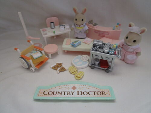 Calico Critters Sylvanian Families Country Nurse + Doctor Replacement Pieces