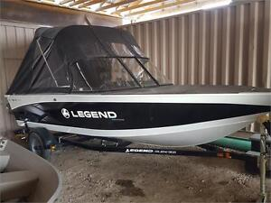 Brand New !2016 Legend 16 xcalibur with 40 4 stroke