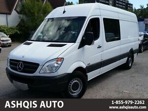 2013 Mercedes-Benz Sprinter High Roof Long Extended 5 Passengers