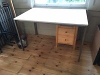 White Ikea Desk - FREE