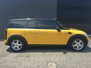 2008 Mini Clubman R55 Wagon 3dr Man 6sp 1.6i Yellow Manual Wagon Southport Gold Coast City Preview