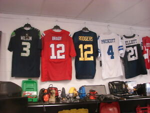 NHL and NFL  JERSEYS PAST AND CURRENT STARS AVAILABLE