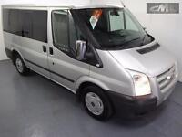 FORD TRANSIT TOURNEO 280 TREND LR 9 SEATER , Silver, Manual, Diesel, 2012