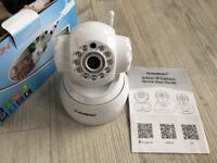 Floureon HD IP Camera Wireless Wifi CCTV Security Baby/Pet Monitor MIC SD/TF