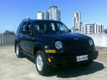 2007 Jeep Cherokee KJ MY2006 Sport Black 4 Speed Automatic Wagon Southport Gold Coast City Preview