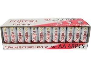 Fujitsu-AA-Premium-Alkaline-Battery-48pcs-Shrink-Pack