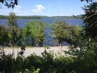 Building Lot and Beach for Sale on the Beautiful Belleisle Bay