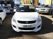 2011 Suzuki Swift FZ GLX White 4 Speed Automatic Hatchback Minchinbury Blacktown Area Preview