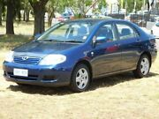 2006 Toyota Corolla ZZE122R MY06 Upgrade Ascent Blue 4 Speed Automatic Sedan Belconnen Belconnen Area Preview