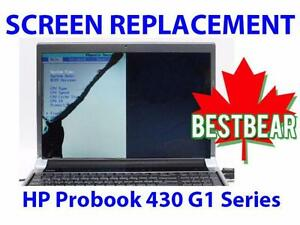 Screen Replacment for HP Probook 430 G1 Series Laptop