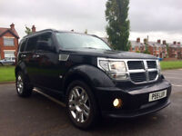Late 2007 Black Dodge Nitro Jeep SXT CRD 4WD