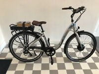 New Electric Urban Bike For Sale never been used ready to go size medium easy and comfortable ride