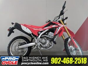 2018 Honda CRF 250L ONLY $34/WEEKLY!!