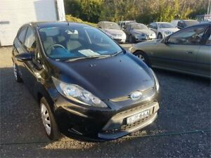 2009 Ford Fiesta WS CL Black Automatic Hatchback Lansdowne Bankstown Area Preview