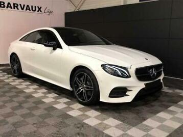 mercedes-benz e 220 d coupe pack amg