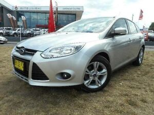 2013 Ford Focus LW MK2 Upgrade Trend Silver 6 Speed Automatic Hatchback Belconnen Belconnen Area Preview