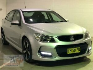 2017 Holden Commodore VF II MY17 SV6 Silver Sports Automatic Sedan Campbelltown Campbelltown Area Preview