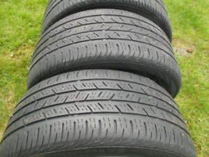 2 Sets of Continental all season tires  225 45 17 and 235 45 17