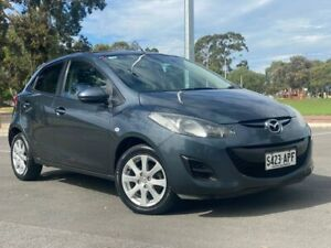 2012 Mazda 2 DE10Y2 MY12 Maxx Grey 4 Speed Automatic Hatchback Nailsworth Prospect Area Preview