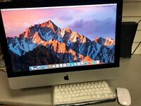 "Apple iMac 21.5"" Mid 2014 Slim Model Intel i5, 8gb RAM & 500gb HDD Latest OSX Sierra £549.99"