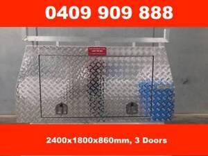ALUMINIUM CANOPY 24OOX1800X860MM, 3 DOORS Croydon Maroondah Area Preview