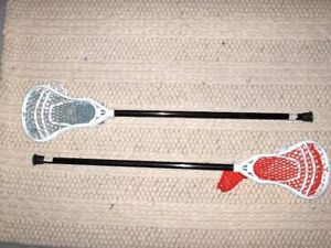 GAIT Junior Lacrosse Sticks and Ball - New and Adult Stick