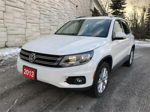 2013 Volkswagen Tiguan Highline No accident Pano roof bluetooth