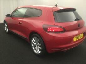 2011 VOLKSWAGEN SCIROCCO 1.4 TSI DSG 3D AUTO 160 buy for only £45 a week FINANCE