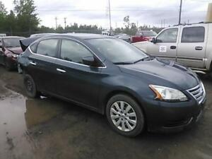 Parting out 2013 Sentra